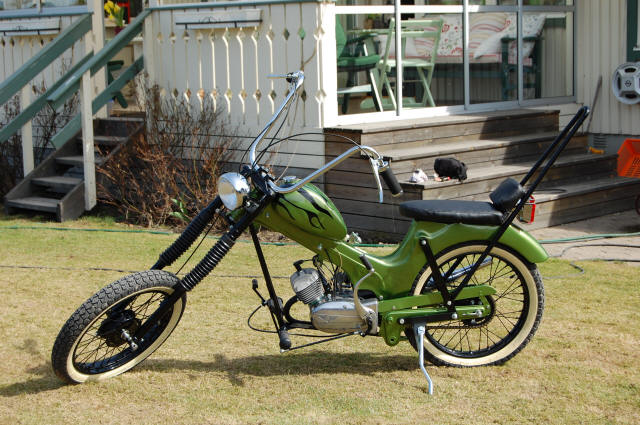Re: SHOW ME YOUR CHOPPER MOPEDS — Moped Army  Re: SHOW ME YOU...